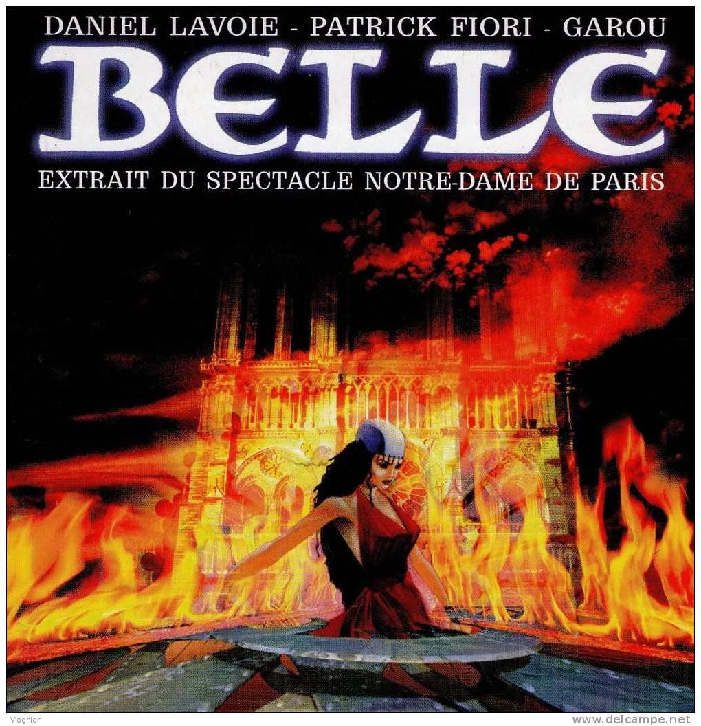 Lavoie, Fiori & GarouBelle (Notre Dame De Paris)2 TitresPomme Musique1997Pochette CartonnéeNeuf - Musique & Instruments