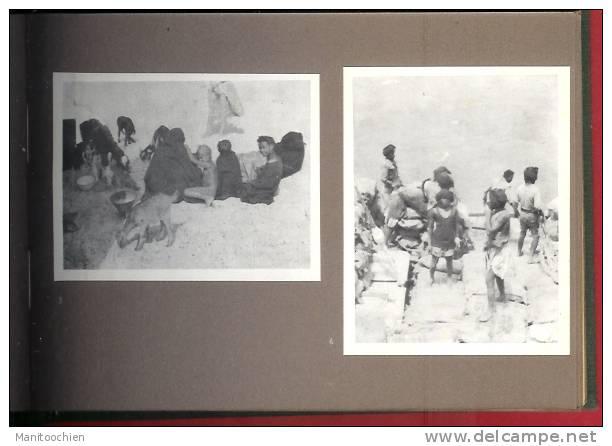 CARNET DE VOYAGE PETIT RECUEIL DE 33 PHOTO EN AFRIQUE - Sin Clasificación