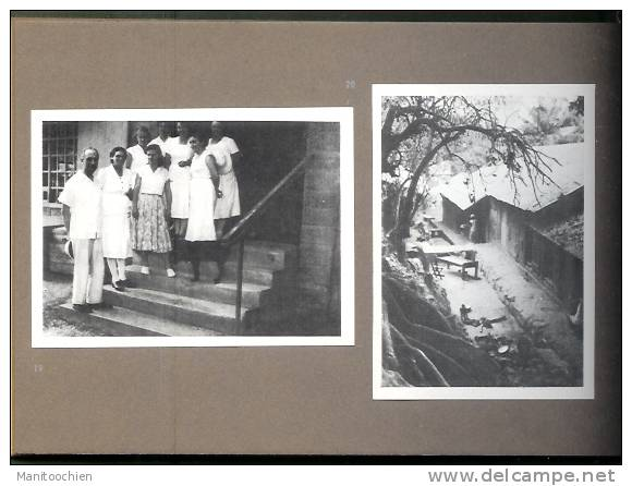 CARNET DE VOYAGE PETIT RECUEIL DE 33 PHOTO EN AFRIQUE - Vieux Papiers