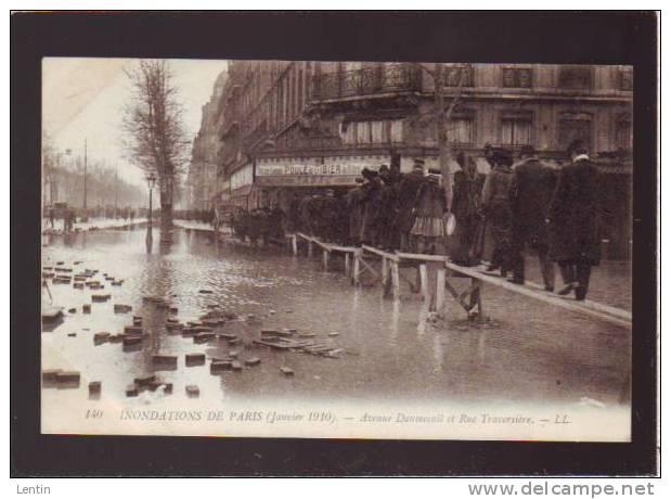 PARIS- Arrondissement 12 - CRUE 1910 - Avenue Daumesnil Et Rue Traversiere - Arrondissement: 12