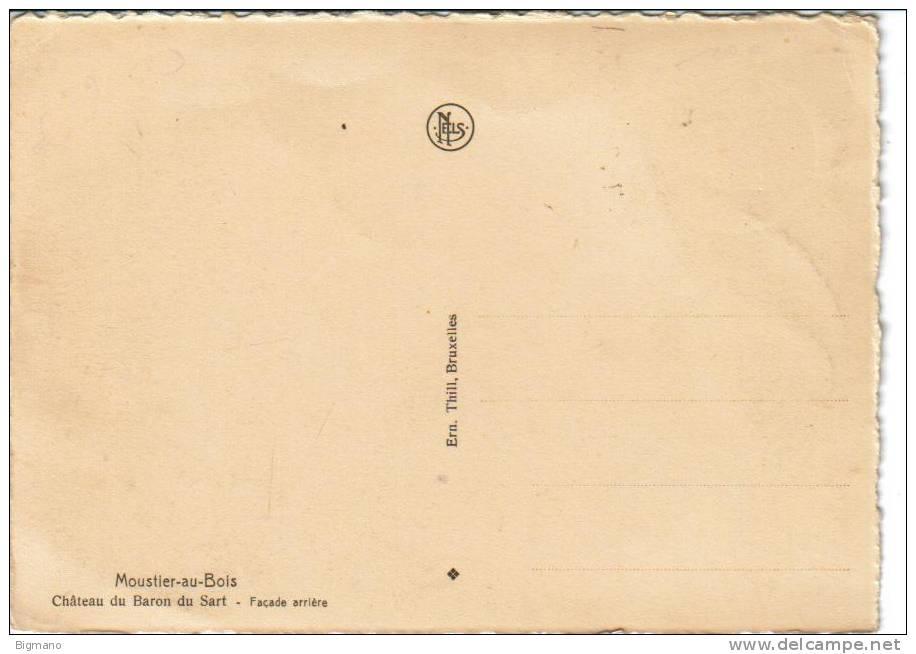 Jardinerie Du Bois Du Sart - MOUSTIER AU BOIS CHATEAU DU BARON DU SART DE BOULAND GRANDMETZ Delcampe net