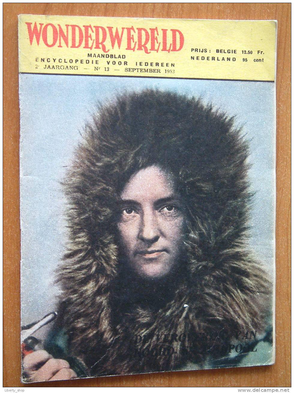 WONDERWERELD 2° Jaargang N° 13 / September 1953 ( Encyclopedie Voor Iedereen ) !! - Enzyklopädien
