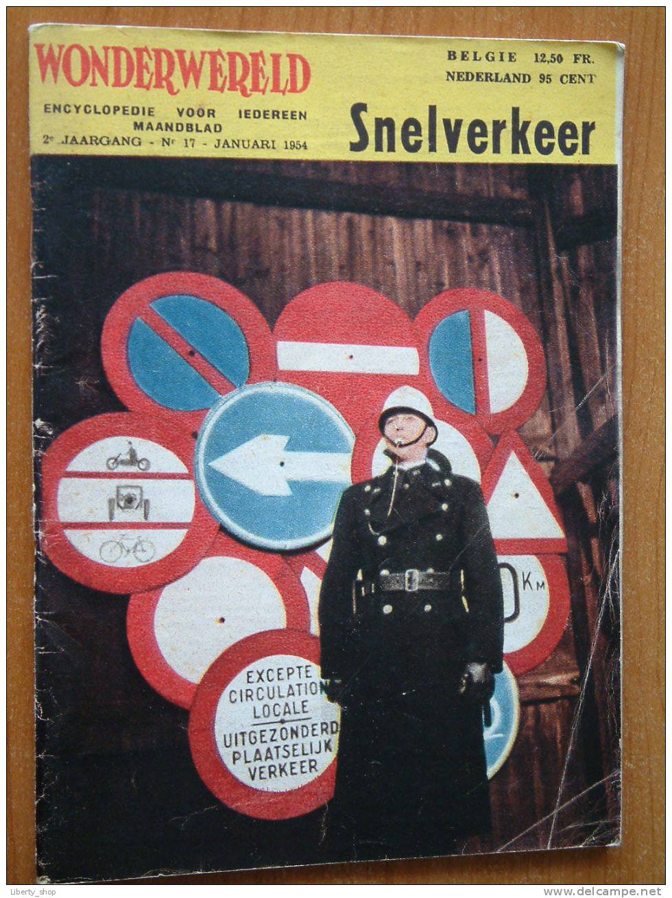WONDERWERELD 2° Jaargang N° 17 / Januari 1954 ( Encyclopedie Voor Iedereen ) !! - Encyclopédies