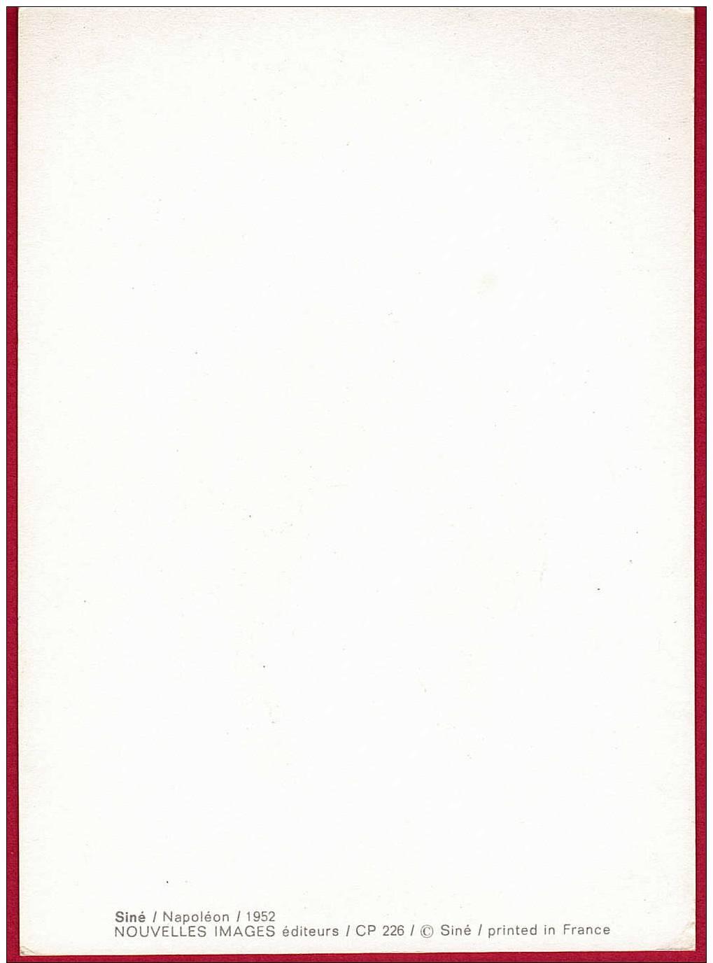 SINE.  NAPOLEON. 1952 ( Dessin D'humour ) - Sine