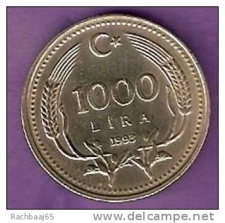 TURQUIE 1000 LIRA 1993  ETAT SUP - Turquie