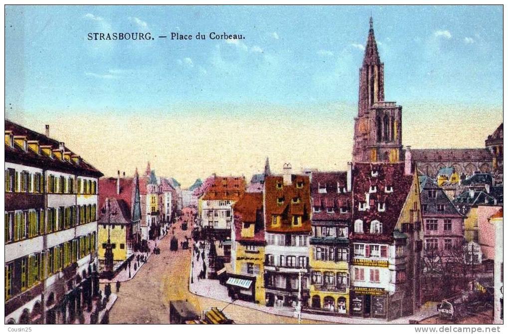 67 STRASBOURG - Place Du Corbeau - Edit : Félix Laib - Strasbourg