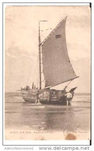 36493)cartolina Illustratoria Località Di Heyst Sur Mer - Heist