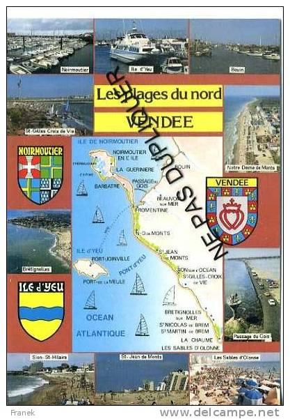 CP85250 - LA VENDEE - Les Plages Du Nord - Pays De La Loire