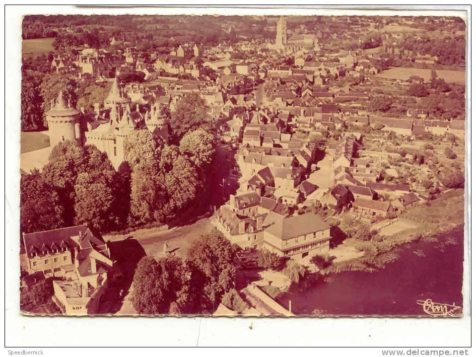 16053 Combourg Lac Hotels Chateau . 263-2 A Cim  Vue Aérienne . Couleurs Passées ! - Combourg