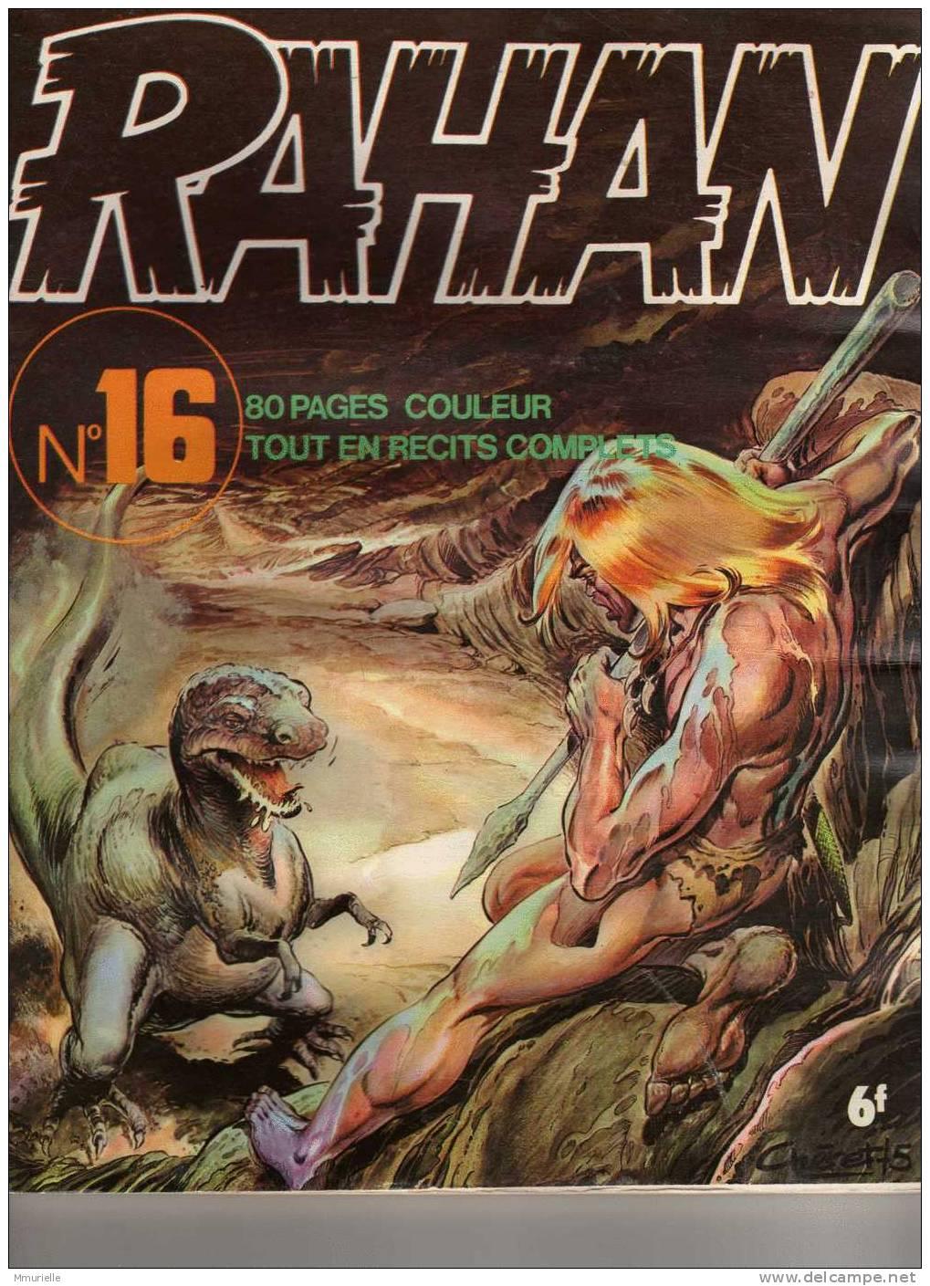 RAHAN N° 16-MB - Rahan