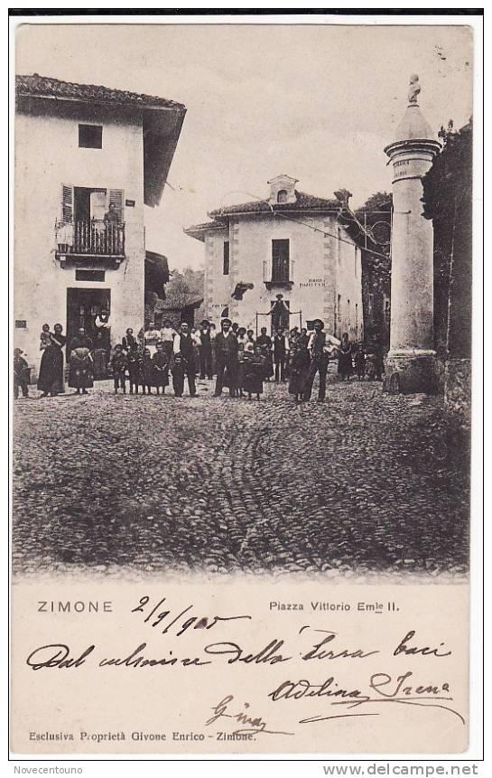 PIEMONTE - BIELLA - ZIMONE - P.za Vittorio Emanuele II - Biella
