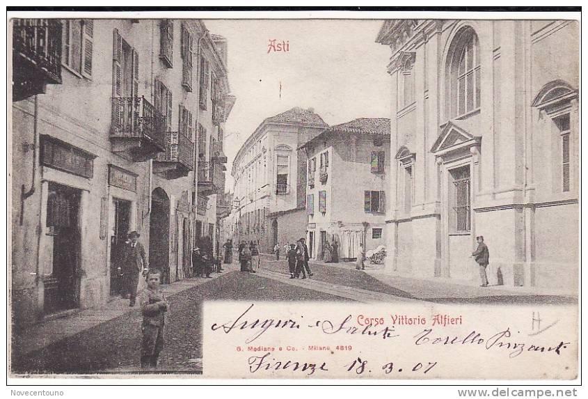 PIEMONTE - ASTI - Corso Vittorio Alfieri - Asti