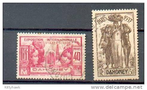DAH 172- YT 105 Et 106 Obli - Dahome (1899-1944)