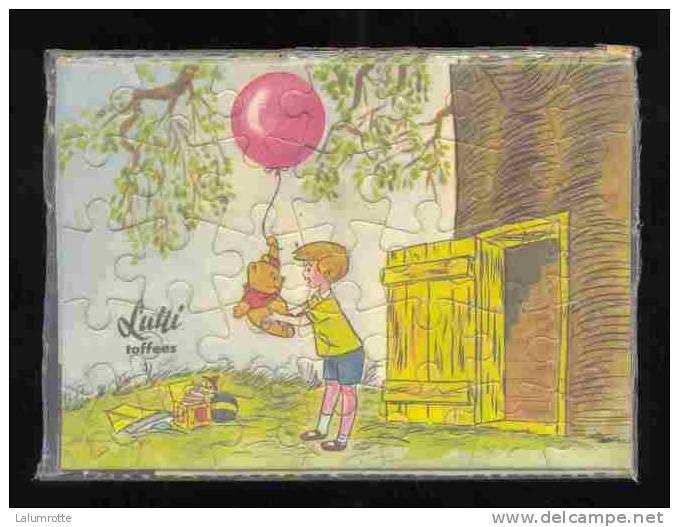 Jeux. 2. Bonbons Lutti Winnie L' Ourson. Neuf - Puzzles