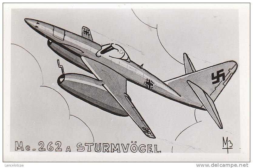 AVIATION ILLUSTRE / Me 262 A STURMVÖGEL Par M3 - 1946-....: Modern Era