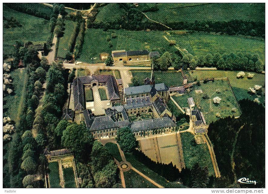 Carte Postale  Belgique  Aubel  Abbaye Notre-Dame-du-Val-Dieu  Vue D'avion Trés Beau Plan - Aubel
