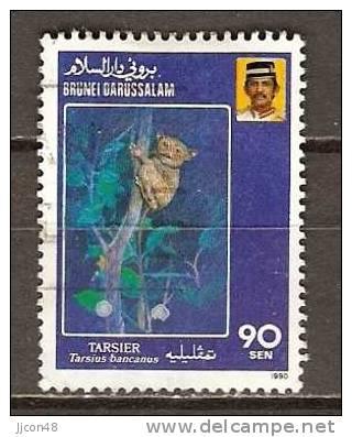 Brunei 1990  Endangered Species.  90c  (o) - Brunei (1984-...)