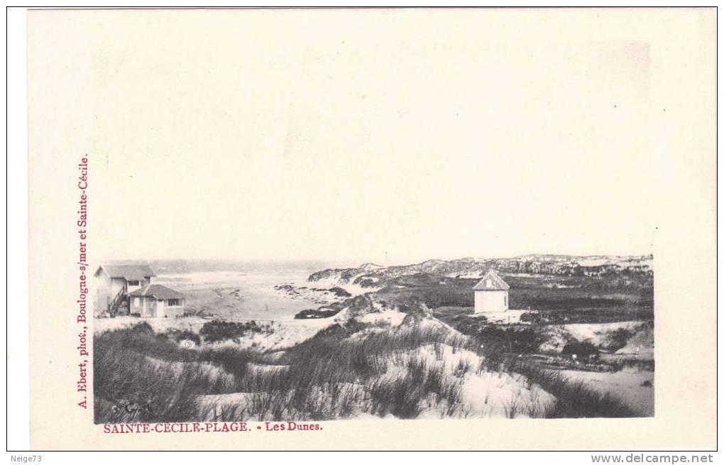 Cpa De 62 - Sainte Cécile Plage - Les Dunes - Non Classés