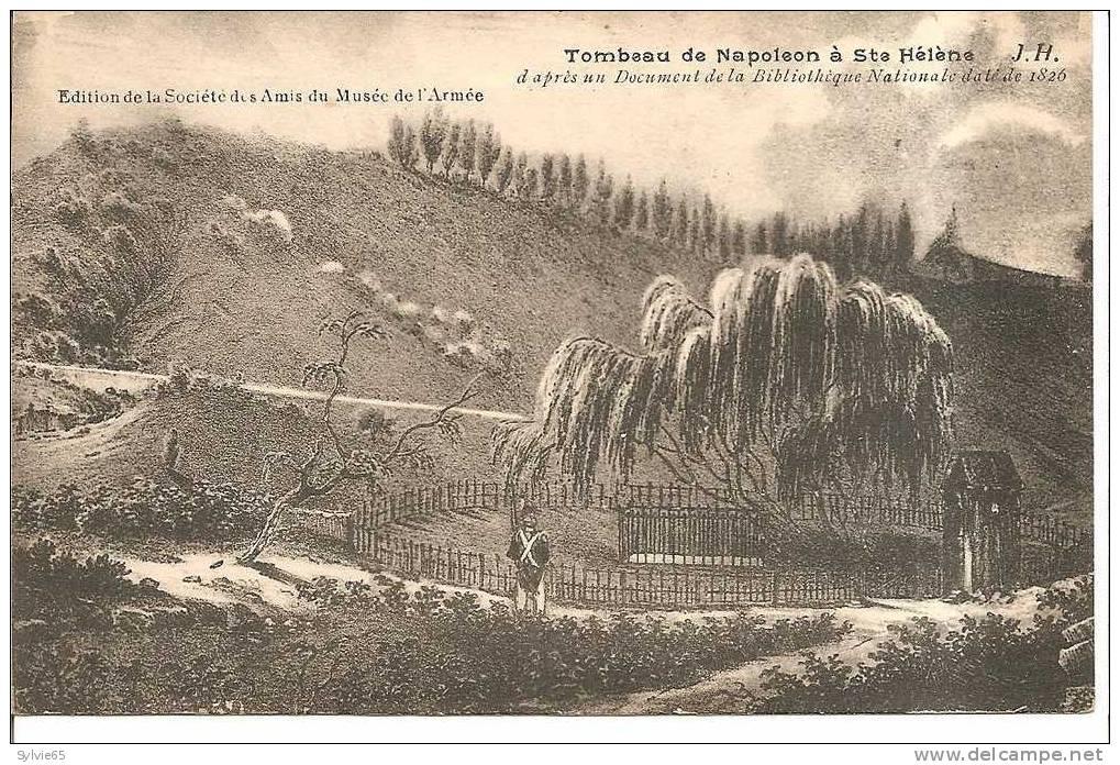 Tombeau De Napoléon à STE HELENE (d'après Doc De La Bibliothèque Nationale) - Saint Helena Island