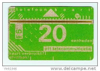 D001A ,NETHERLANDS 1986,FIRST TELECARD ,FL 5,00, UNUSED/ONGEBRUIKT (T1002) - Nederland