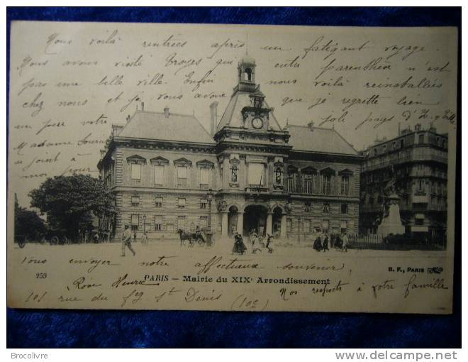 -Paris-Mairie Du XIX Iéme- - Frankreich