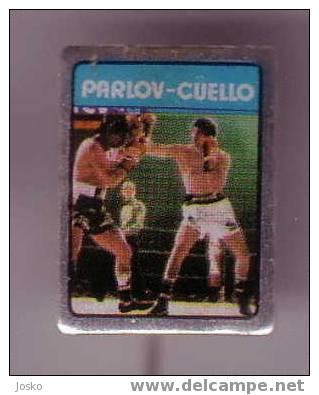 MATE PARLOV -  CUELLO ( Argentina ) Boxing Match * Pin Badge Boxing Boxe Boxeo Boxen Pugilato Distintivo Anstecknadel - Boxing