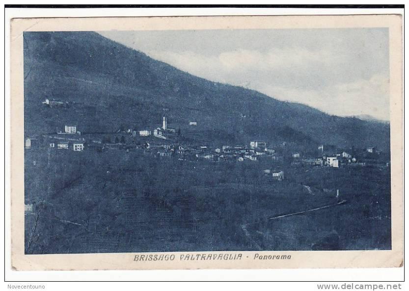 LOMBARDIA - VARESE  - Brissago Valtravaglia - Panorama - Varese