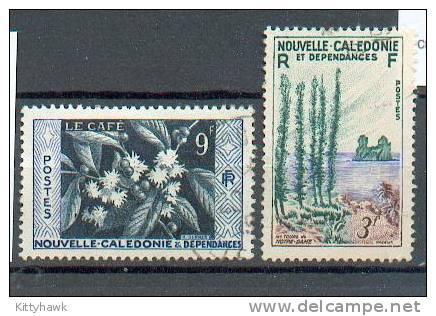 NCE 264 - YT 285 - 286 Obli - Nouvelle-Calédonie