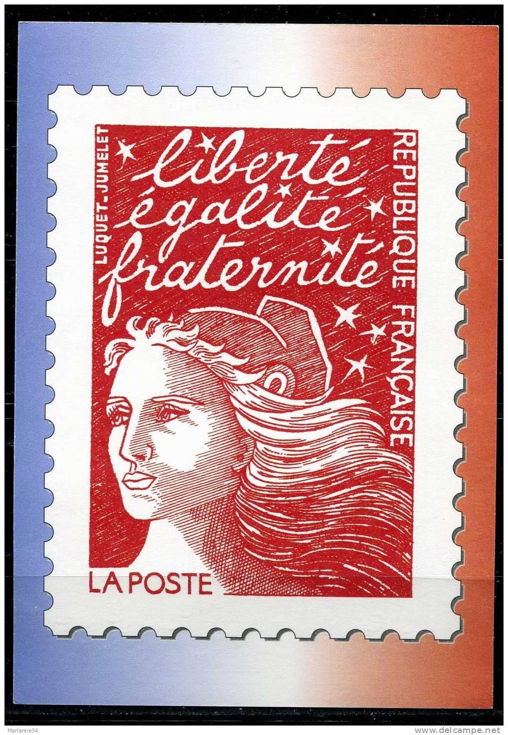 1997 carte avec reproduction timbre marianne du 14 juillet delce net