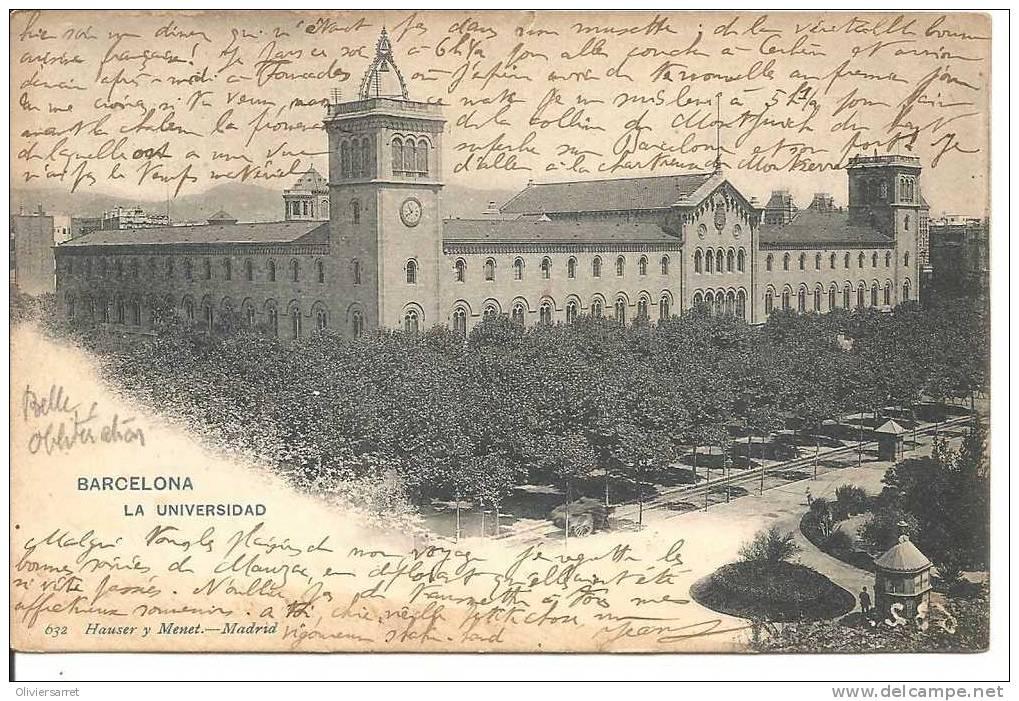 Espagne  Barcelona  La Universidad - Barcelona