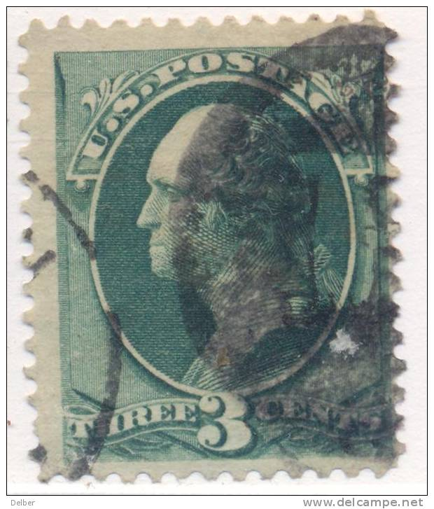 _Us924: WASHINGTON  3 Cents # 184 : Nice Postmark - 1847-99 Emissioni Generali