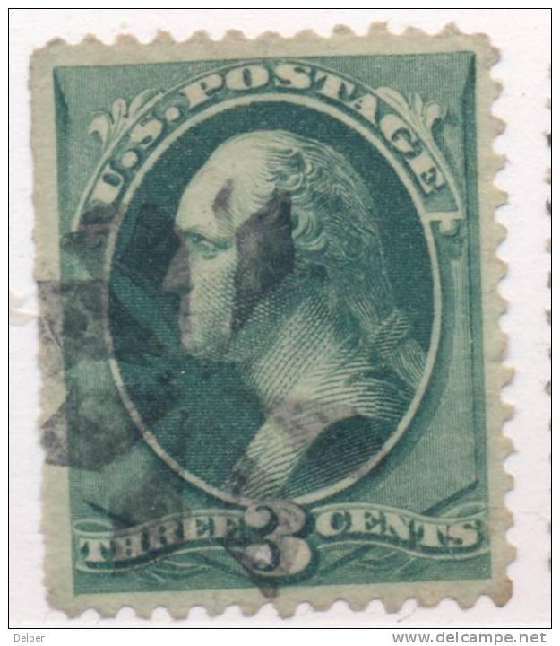 _Us922: WASHINGTON  3 Cents # 184 : Nice Postmark - 1847-99 Emissioni Generali