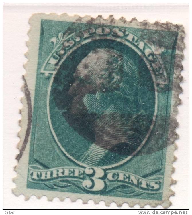 _Us919: WASHINGTON  3 Cents # 184 : Nice Postmark - 1847-99 Emissioni Generali