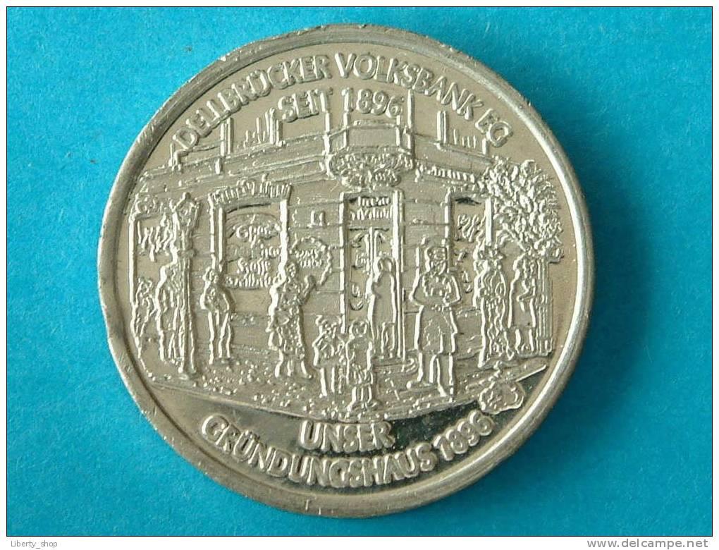 100 JAHRE DELLBRÜCKER VOLKSBANK EG UNSERE HAUPTSTELLE 1996 ! - Deutschland