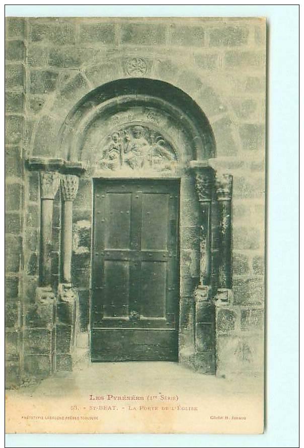 SAINT-BEAT / Porte De L' Eglise - France