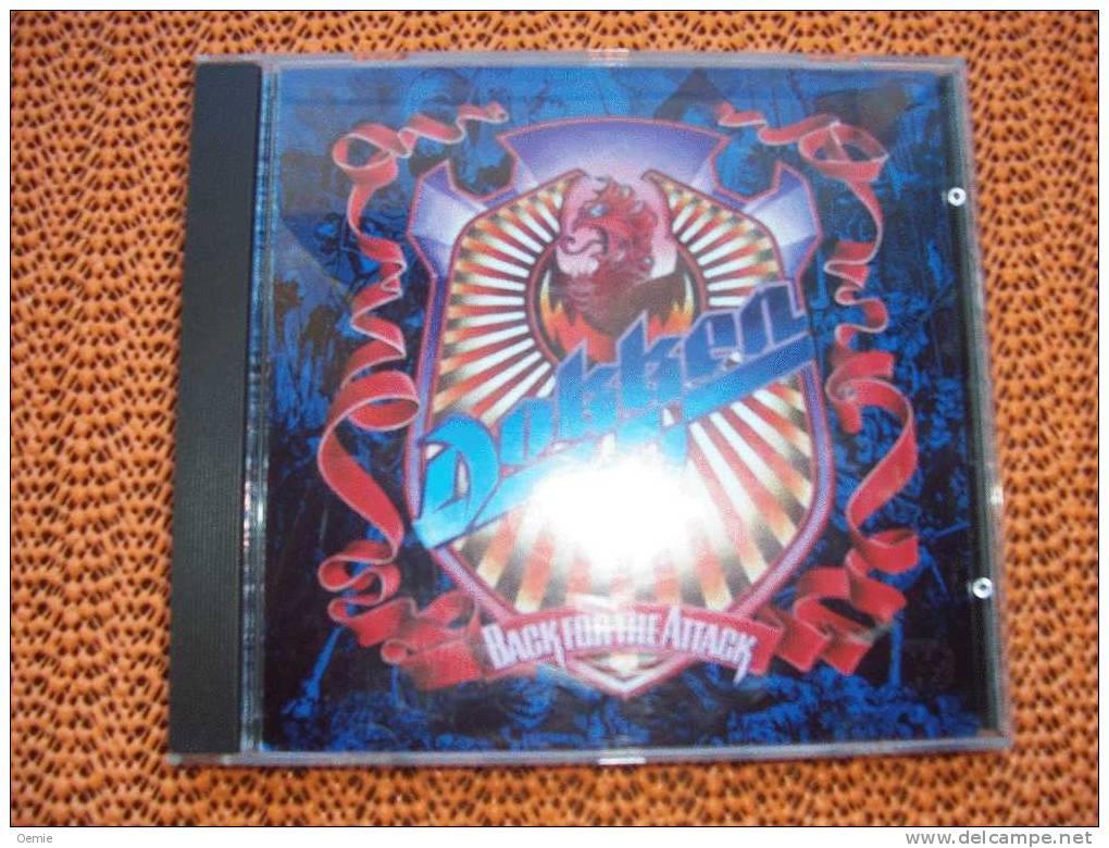 DOKKEN °°°°°°°°  BACK FOR THE ATTACK   Cd - Hard Rock & Metal