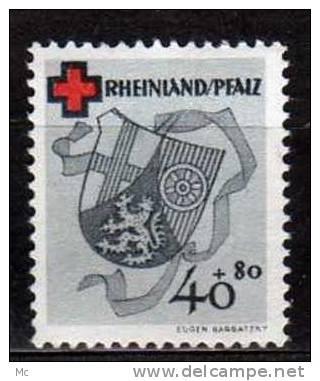 Rheno-Palatin N° 44 Luxe ** - Französische Zone