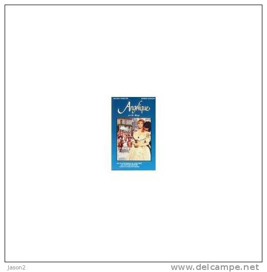 Cassette Video  ANGELIQUE ET LE ROY ( Michele Mercier, Robert Hossein) TFI Neuf Sous Blister - Romantique