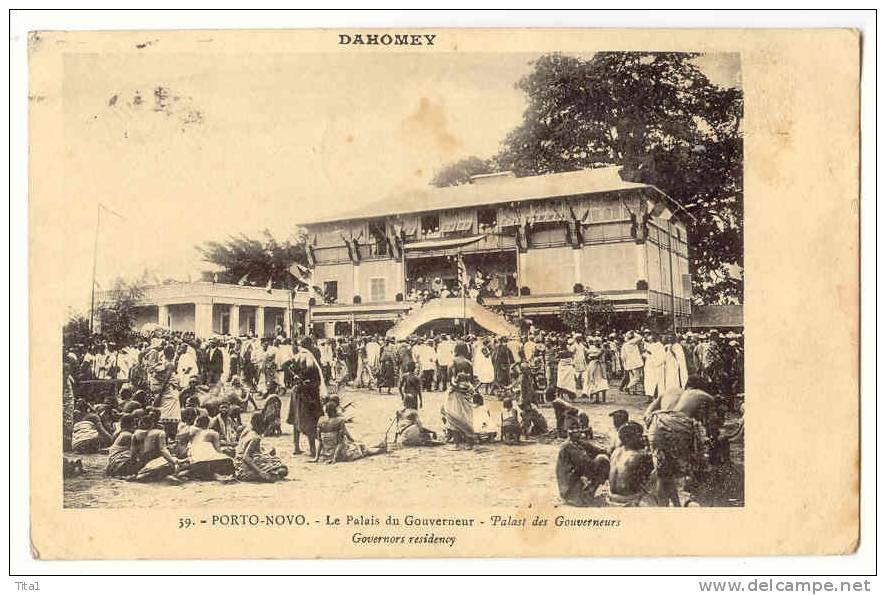 13472 - Porto-Novo - Le Palais Du Gouverneur - Dahomey