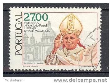 Portugal 1982 Mi. 1566  27.00 E Besuch Von Papst Visit Of Pope Johannes Paul II. - 1910-... République