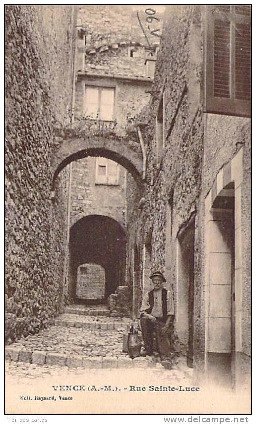 06 - Vence - Rue Sainte-Luce - Vence