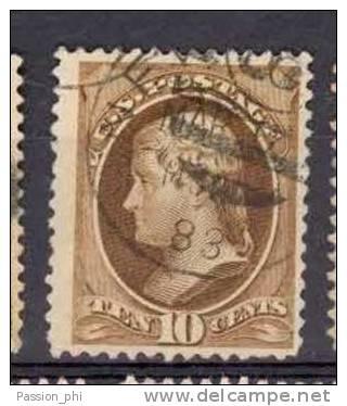 USA 1870/82 NATIONAL BANK NOTE Co YVERT 44 USED - 1847-99 Emissioni Generali