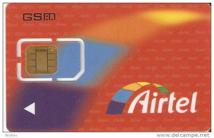 A-018/2  TARJETA GSM DE AIRTEL CON 607 TWIN - Airtel