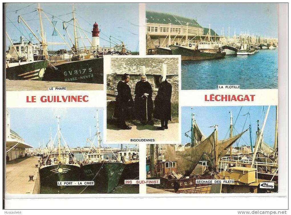 LE GUILVINEC - LECHIAGAT - VUES DIVERSES - Guilvinec