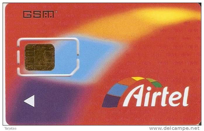 A-020/1  TARJETA GSM DE AIRTEL CON 607 - Spain