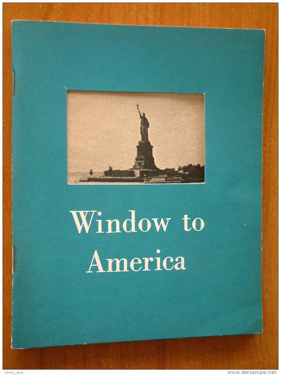 WINDOW TO AMERICA ( Brochure ) !! - World