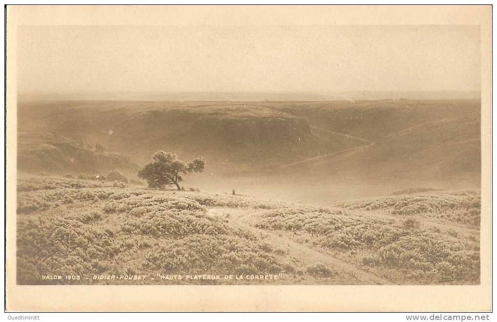 Salon 1903. Didier Pouget.hauts Plateaux De La Corrèze.carte-photo. - France