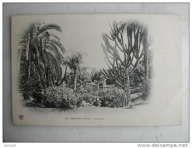 MONTE CARLO - Jardins - Monaco