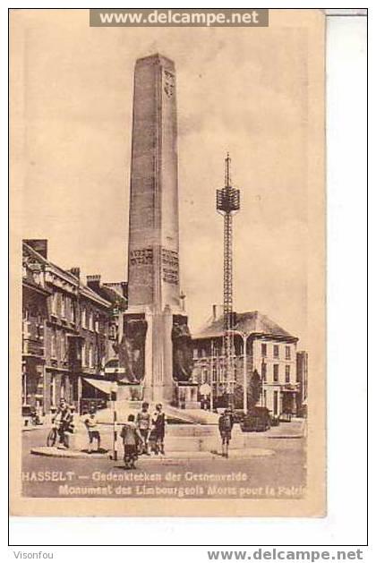 Hasselt : Monument Des Limbourgeois Morts Pour La Patrie - Monumenten