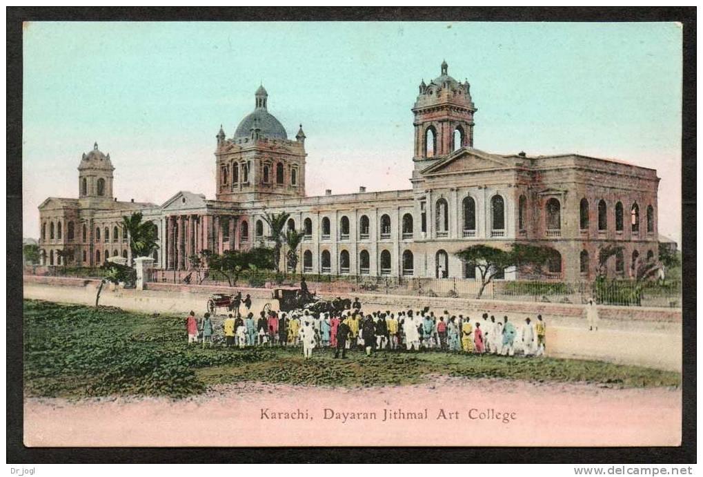 IA15) India (now Pakistan) - Karachi - Dayaran Jithmal Art College - Pakistan